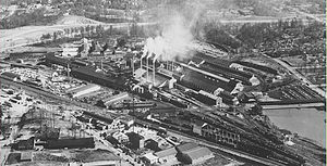 Atlantic Station - Atlantic Steel Mill
