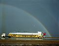 Atlas 93D with Rainbow; Preparing to Load Aboard C-133B; Miramar NAS. Date- 10-11-1961 (21442100159).jpg