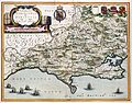 Atlas Van der Hagen-KW1049B11 008-COMITATUS DORCESTRIA, sive DORSETTIA; Vulgo Anglice DORSET SHIRE..jpeg