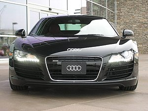 Daytime running lamp - LED DRLs on an Audi R8