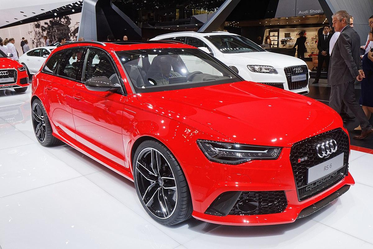 Audi RS6 – Wikipedia, wolna encyklopedia