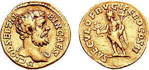 Year of the Five Emperors - Image: Aureus Clodius Albinus RIC 0009b