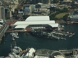 Philip Cox - Australian National Maritime Museum in Sydney, New South Wales.