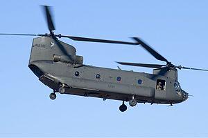 Australian Army Boeing CH-47D Chinook CBR Gilbert.jpg