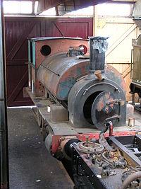 Avonside Engine Co 1421 'Pontyberem' (1900) ex-BP&GVR, GWS Didcot , January 2008 P1050049 (9940096446).jpg