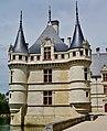 Azay-le-Rideaux Château d'Azay-le-Rideau Ostseite 6.jpg