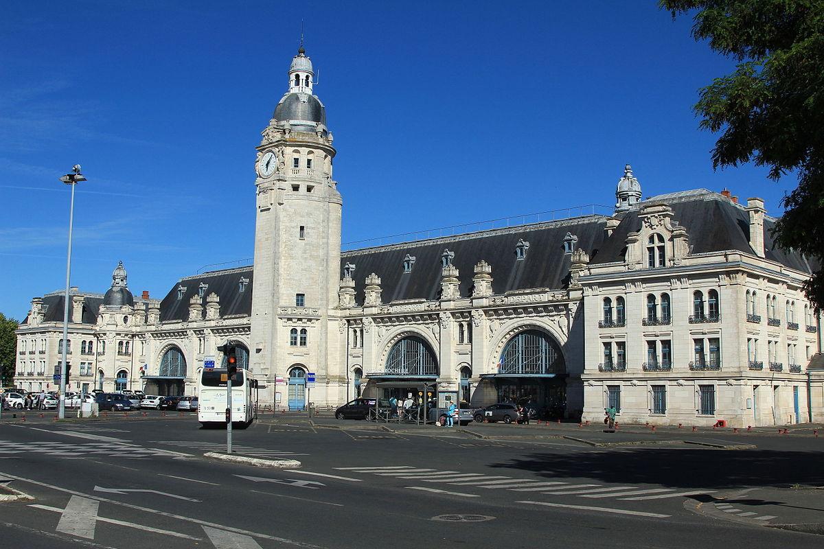 Gare de la rochelle ville wikip dia for Piscine de la rochelle