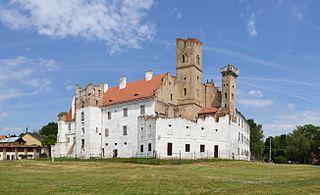 Břeclav Town in South Moravian, Czech Republic