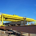 B210 gantry cranes with steel (11073984084).jpg