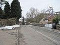 B4580 into Rhydycroesau - geograph.org.uk - 1722658.jpg
