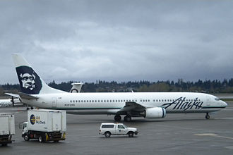 Alaska Airlines - An Alaska Airlines Boeing 737-900 at Seattle–Tacoma International Airport. Alaska was the launch customer of the 737-900 aircraft.