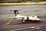 BA Dash 8 100 at NCL (16125765562).jpg