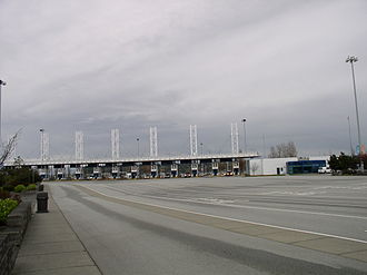 BC Ferries - Tollbooths at Tsawwassen Terminal