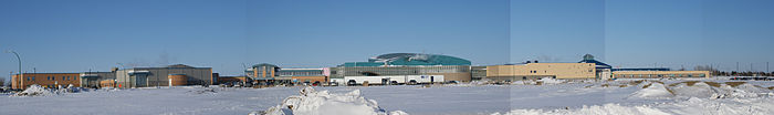 Tommy Douglas Collegiate - Shaw Centre - Bethlehem High School panorama