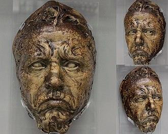 Jean-Joseph Carriès - Self-portrait mask