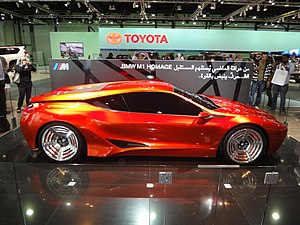 BMW M1 - BMW M1 Homage at the 2009 Dubai International Motor Show