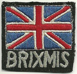 BRIXMIS - Flash worn on the upper arm by uniformed BRIXMIS personnel