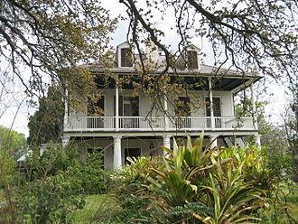 Faubourg St. John - Old Spanish Customs House aka Lorreins Plantation House