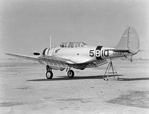 Northrop BT - BT-1 of VB-5 in 1938