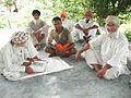 Baba Gajjan reading Gita.jpg