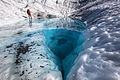 Backpackers Exploring a pool on the Root Glacier (2) (21587560302).jpg