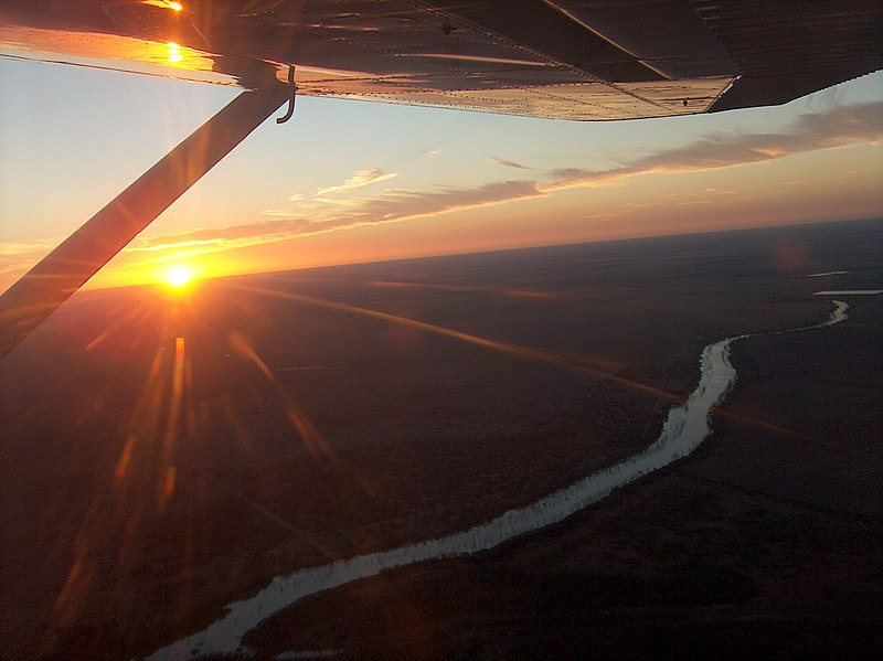 File:Backpacking Australia - St. George view from airplane - panoramio.jpg