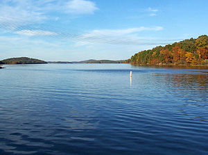 Badin Lake - Image: Badin Lake, North Carolina