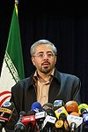 Bagheri Lankarani in the election commission.jpg