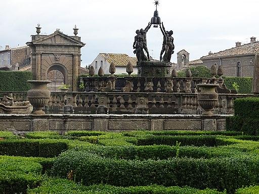 Fontana del quadrato o dei Mori in Villa Lante, Bagnaia