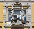 Balcony of the building at Zámecká 8, Ostrava, Czech Republic 12.jpg
