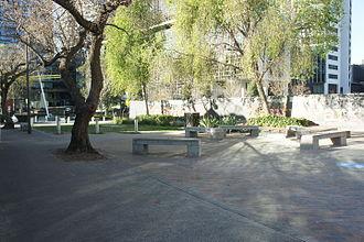 Pocket park - Balfour Street pocket park, Sydney