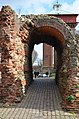 Balkerne Gate, a 1st-century Roman gateway in Camulodunum, it is the largest surviving gateway in Roman Britain, Colchester, Great Britain (22987100380).jpg