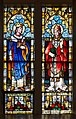 Ballina St. Muredach's Cathedral North Aisle Window 03 Saints Henry and William 2013 09 14.jpg