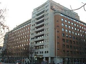 Banco del Estado de Chile - Headquarters in Santiago, Chile.