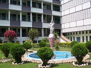 Don Bosco Bandel - The seminary side building