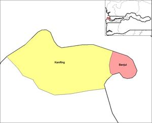 Banjul districts