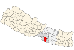 Bara District - Location of Bara