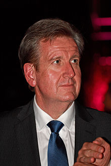 Barry O'Farrell attending the Australian Paralympian of the Year 2012 ceremony.jpg