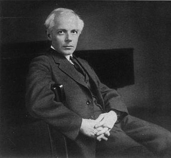 Bela Bartok, an influential composer from the early 20th century; one of the founders of ethnomusicology Bartok Bela 1927.jpg