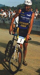 Bart Brentjens Dutch racing cyclist