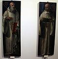 Bartolomeo di david (bottega), s. benedetto e un santo olivetano, da ss. crocifisso a chiusure.JPG