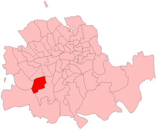 "Battersea (UK Parliament constituency) - Battersea in the Metropolitan Board of Works area, showing ""Borough of Battersea"" boundaries used from 1885 to 1918 of Battersea itself"