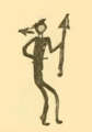 Battiste Good's winter count (Lakota). 1843-44. The return of a sacred arrow of the Cheyenne.png