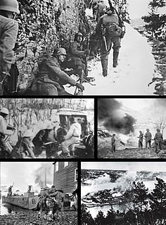 Norwegian campaign Second World War campaign fought in Norway