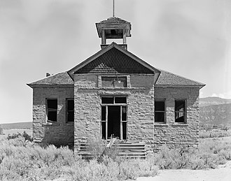 National Register of Historic Places listings in Garfield County, Colorado - Image: Battlement Mesa Schoolhouse