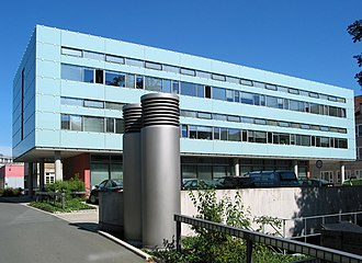 Bauhaus University, Weimar - The Faculty of Civil Engineering, located on Coudraystraße