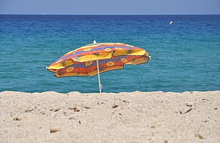 Image of beach umbrella