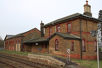 Little Bealings - Image: Bealings Station