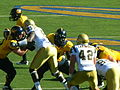 Bears on offense at UCLA at Cal 2010-10-09 37.JPG