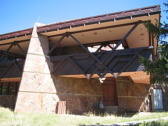 Beaver Meadows Visitor Center - Image: Beaver Meadows Visitor Center 2